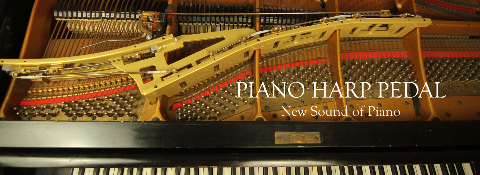 Piano Harp Pedal